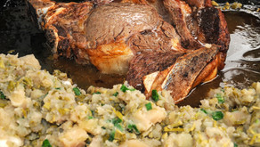 Goveja pečenka s krompirjem - klasika na divji način