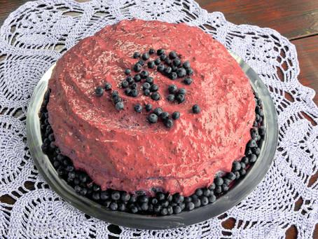 Borovničeva torta za očija