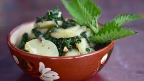 Koprive s krompirjem