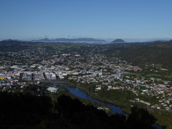 Whangarei City from Parihaka