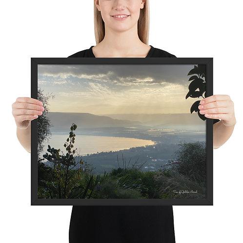Sea of Galilee, Israel - Framed poster
