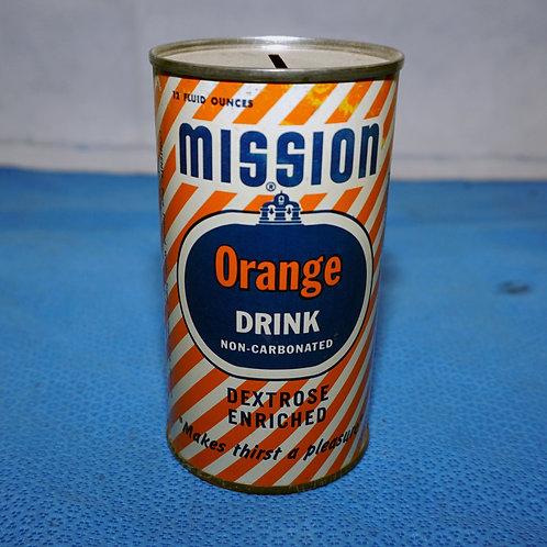 Mission Orange Drink Advertising Bank