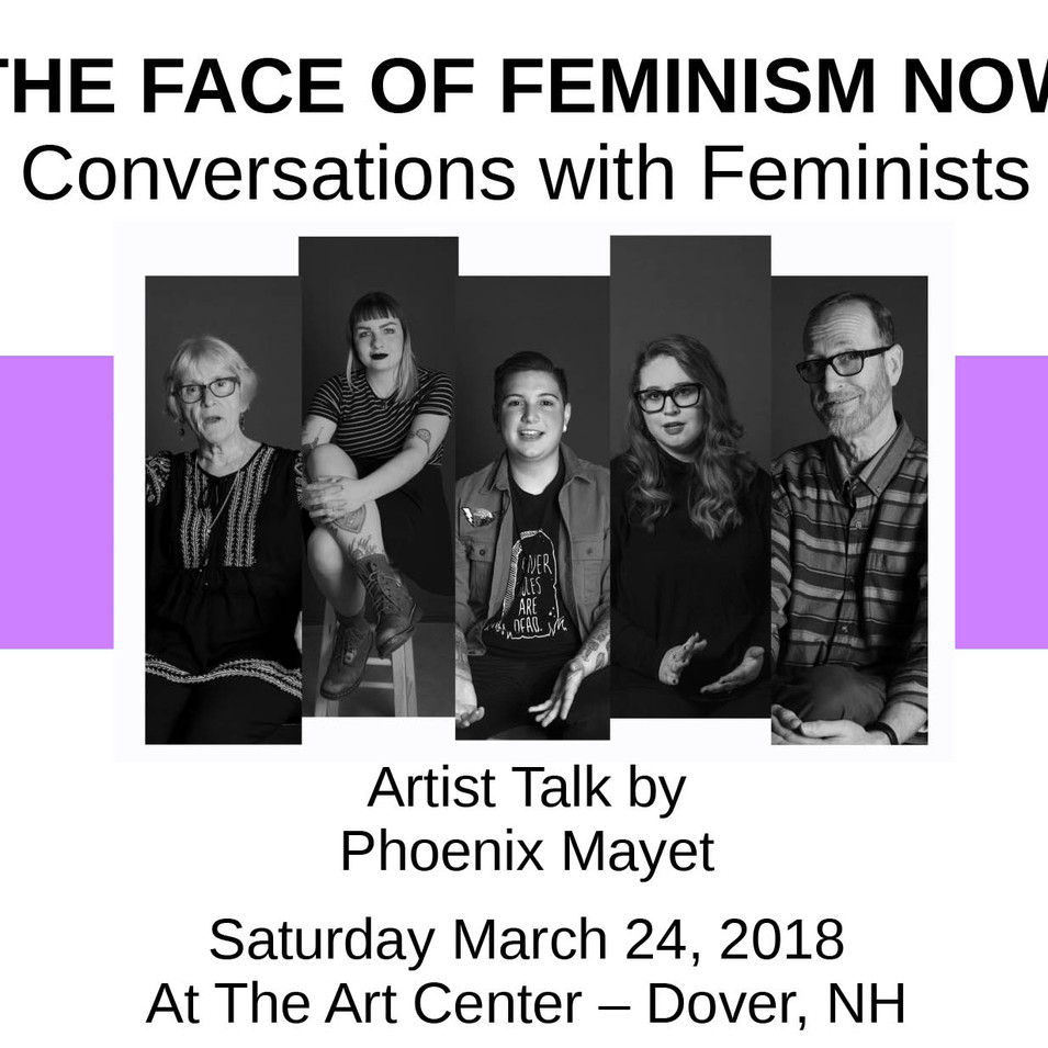 Artist Talk: The Face of Feminism Now