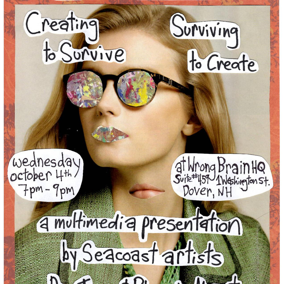 Art and Mental Illness: Creating to Survive/Surviving to Create
