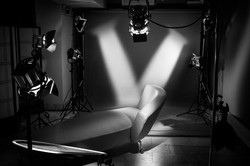 studio horizontal N&B