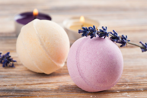(Qty 1000) / 7.5oz /  Wholesale Ringed Bath Bombs