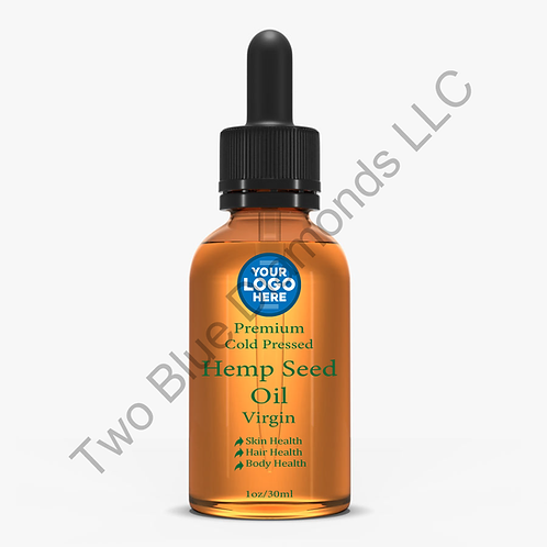(Qty 300) 1oz Hemp Seed Oil Drops