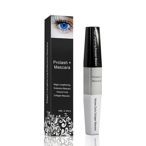 Prolash + Mascara Eyelash Growth Lash Thick Darker Longer Serum Extension Curl