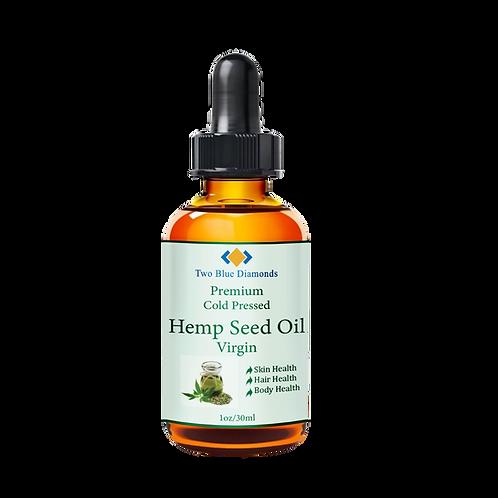 1oz/30ml Virgin Cold Pressed Hemp Seed Oil