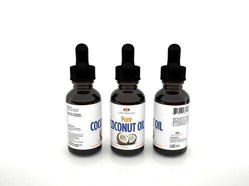 High Quality 100% Pure Coconut Oil Drops (2oz)