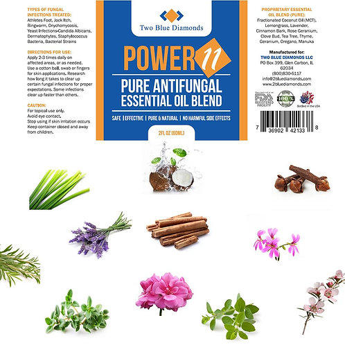 2oz Power 11 Antifungal Blend