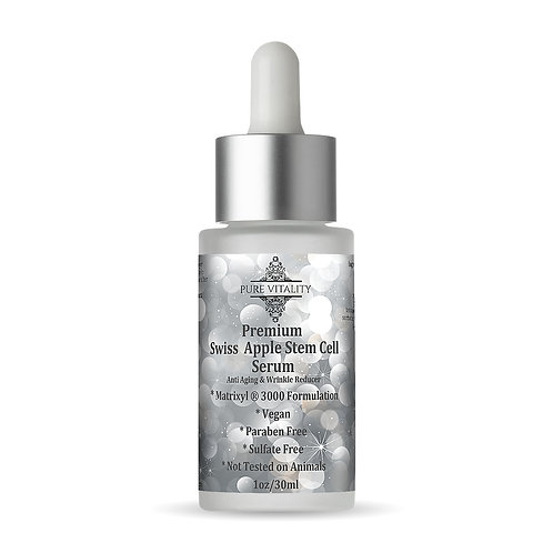 Swiss Apple Stem Cell Anti Aging Serum w/ Matrix 3000 & Hyaluronic Acid