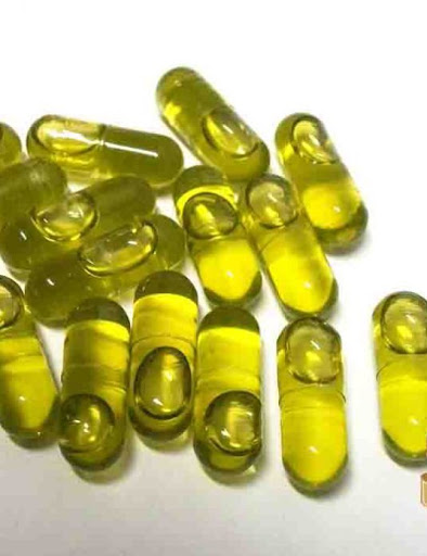 Hemp Seed Oil Gel Capsules
