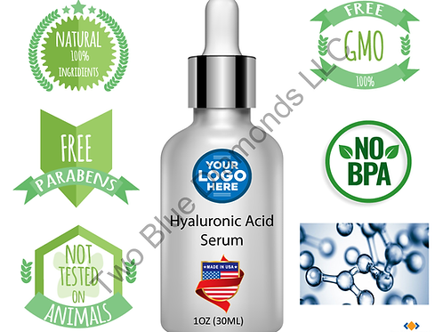 1oz Hyaluronic Acid Serum (Qty 1000)