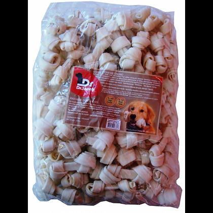 100 adet Düğümlü Kemik (Sütlü) - Rawhide Bones