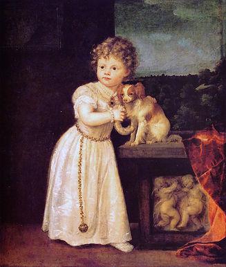 Art-Titian-Tiziano-Vecellio-Portrait-of-