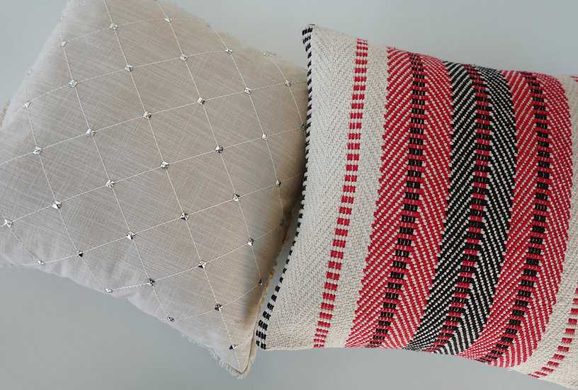Josie & Woven Kyra Cushion Covers