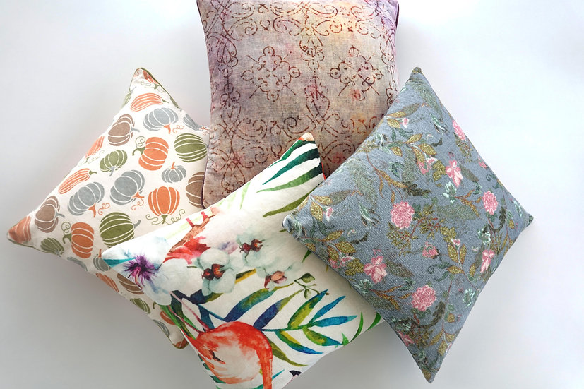 Printed Vienna Cushion Covers