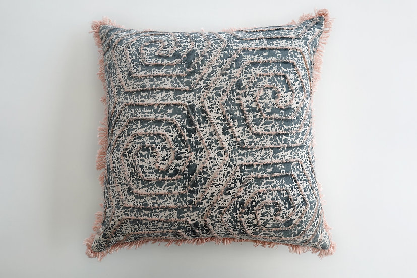 Embroidered Milli Cushion Cover