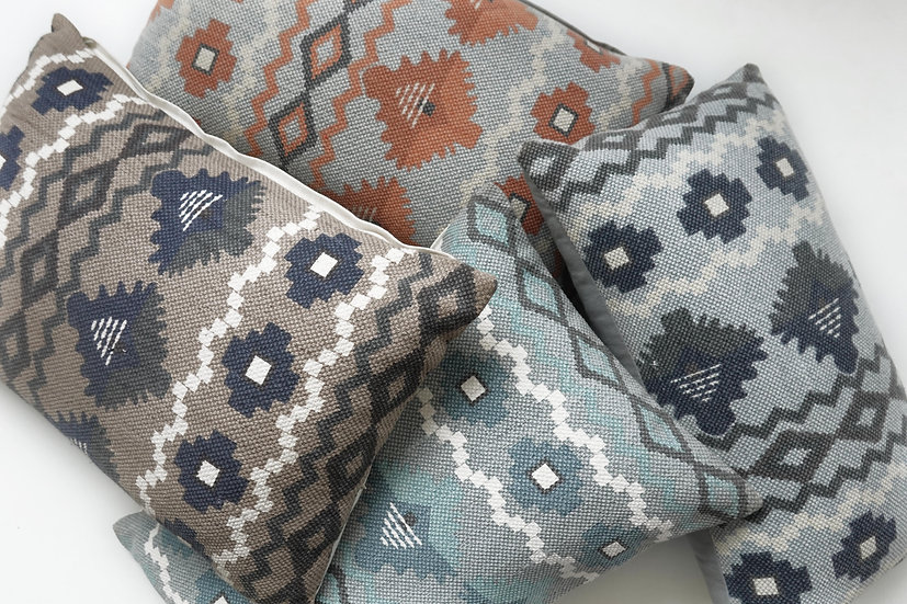 Printed Tabitha Pillow Covers