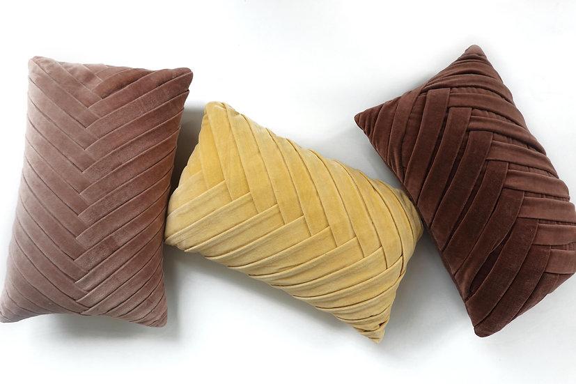 Velvet Caden Pillow Covers