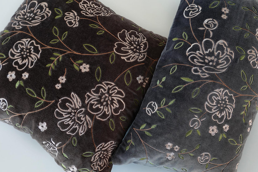 Embroidered Rixton & Felicity Cushion Covers