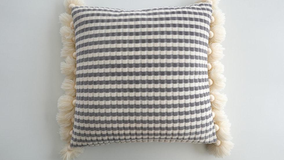 Plush Zebra Cushion Cover
