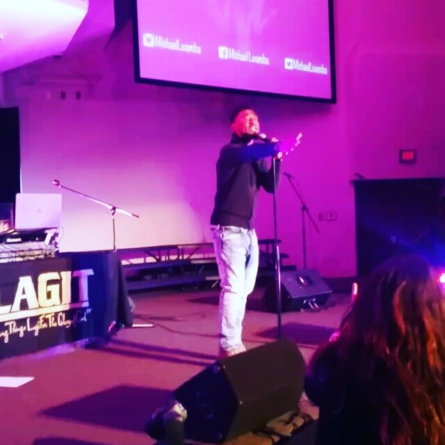 _michaellwamba  takes the stage