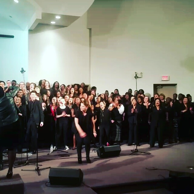 #torontomasschoir #PowerUp over 200 voices choir see photos at www.gospelconnection
