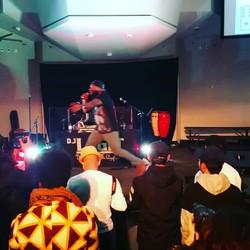 Drug Bex on stage