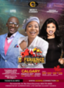 Mercy Chinwo Live in Calgary