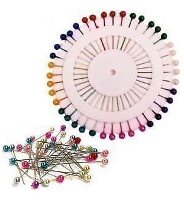 Multicoloured hijab pins