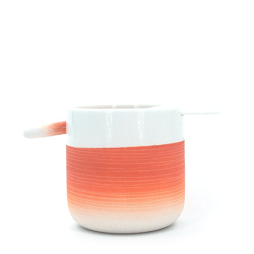 tasse cuillère orange