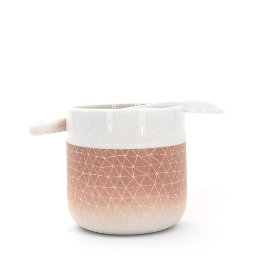 tasse cuillère nude