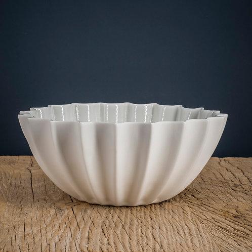 Saladier blanc en porcelaine