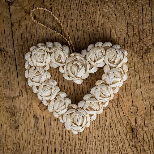 Coeur en coquillages