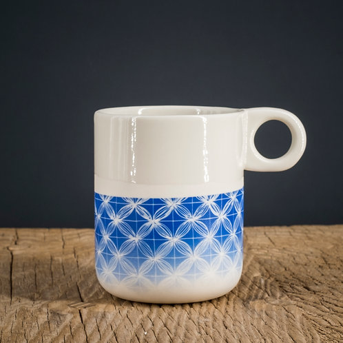 Mug bleu 1