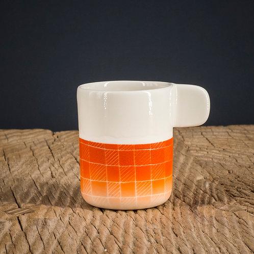 Tasse expresso orange 4