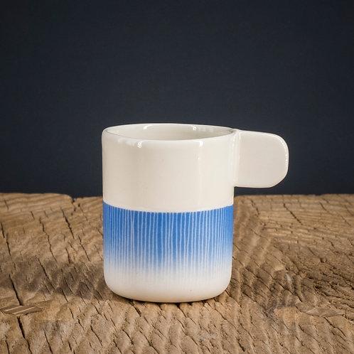 Tasse expresso bleue 2