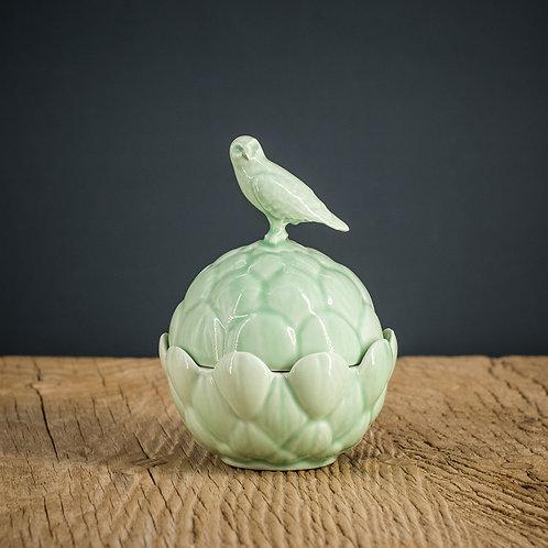 Boîte oiseau - vert clair