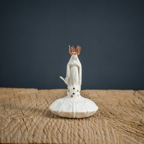 Vierge pois or Taille 3