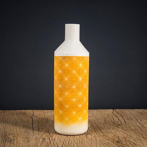 Grande bouteille  jaune 2