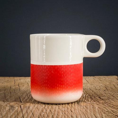 Mug rouge 3