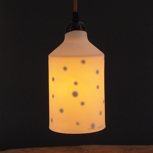 Grande lampe pois