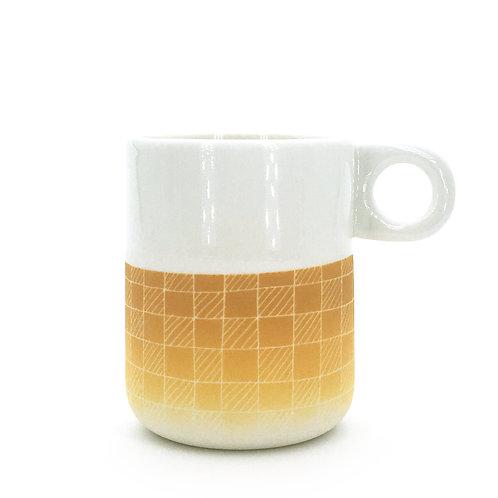 mug jaune