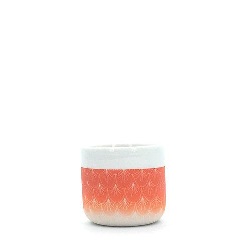 petite tasse orange