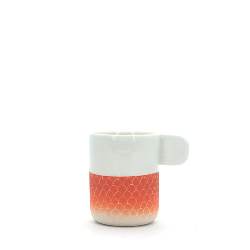 tasse expresso orange