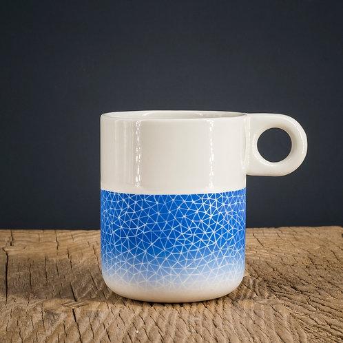 Mug bleu 3