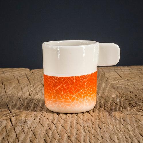 Tasse expresso orange 2
