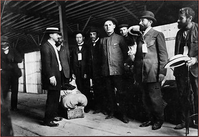 Cohen with immigrants from Cassel (UTSA).jpg
